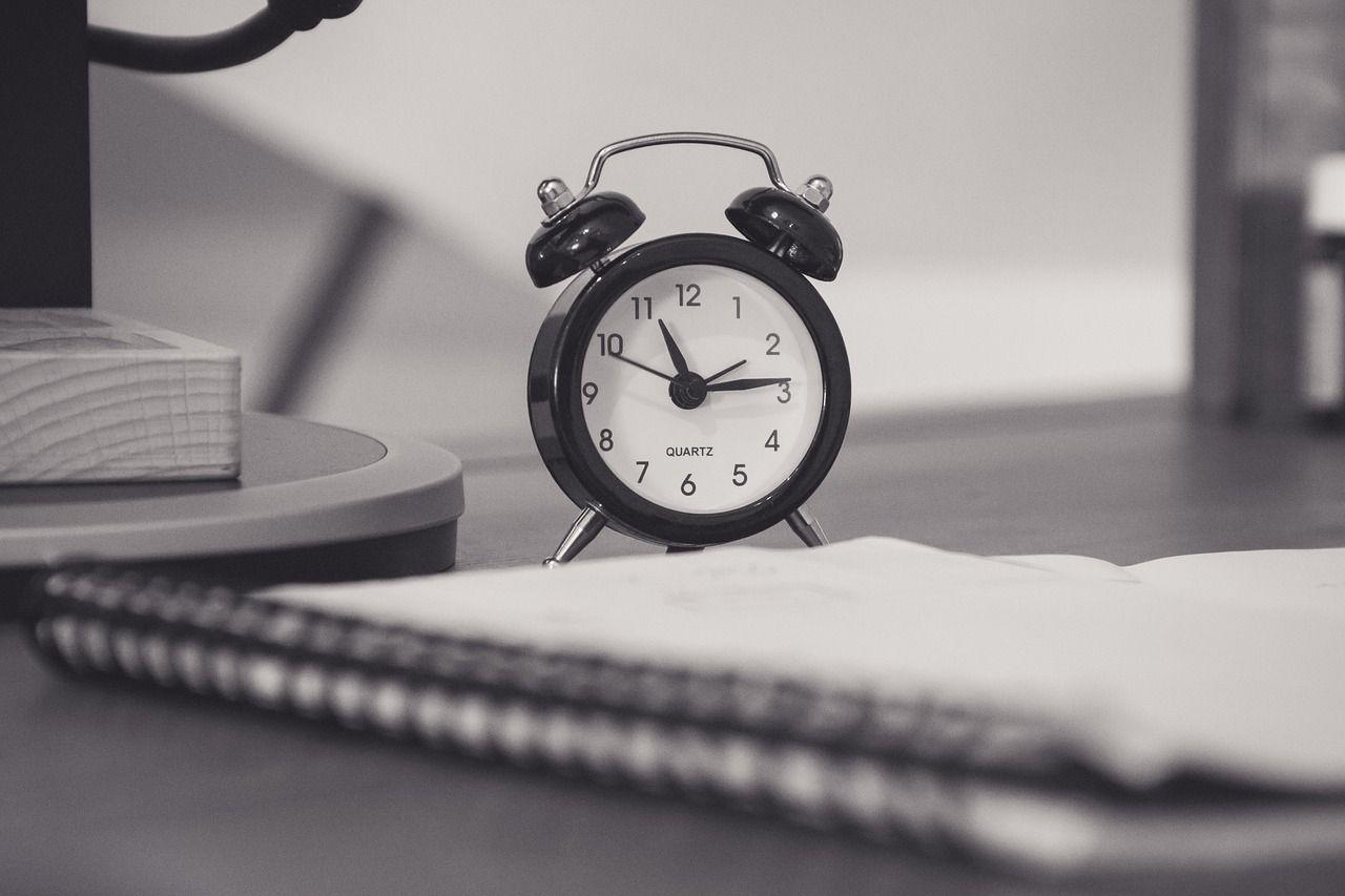 Reloj para administrar el tiempo en el trabajo